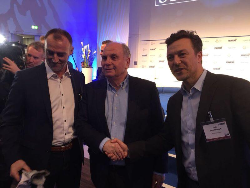 web-netz meets Uli Hoeneß auf der SPOBIS Masterclass 2018