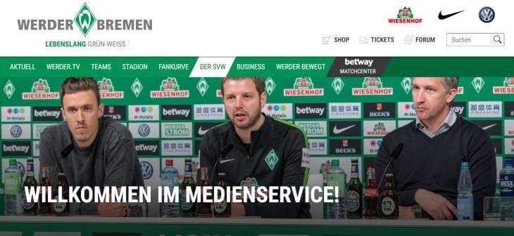 Werder Bremen Pressekonferenz