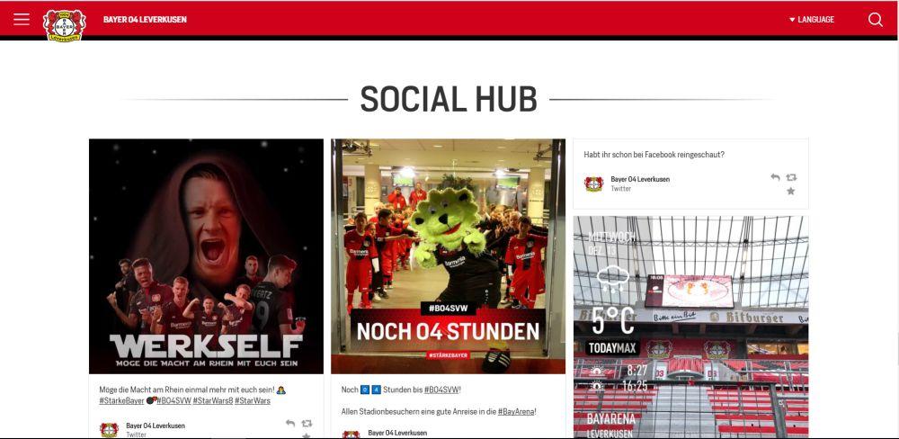 Bayer04: Social Hub