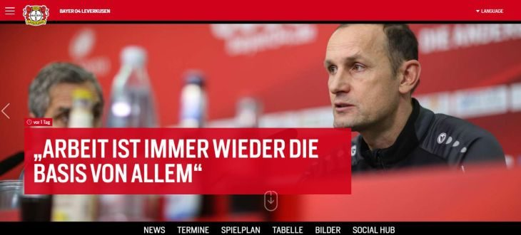 Bayer 04 Leverkusen: Online-Relaunch
