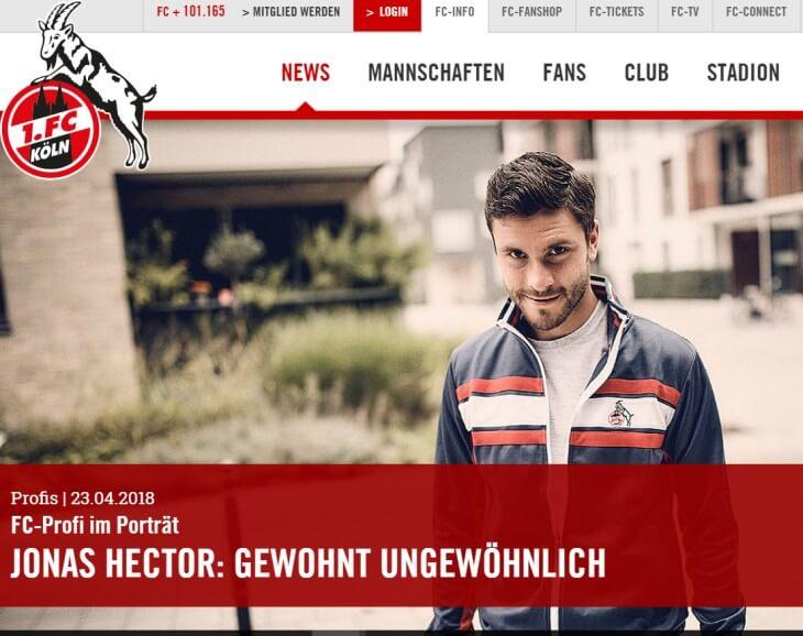 Jonas Hector - 1. FC Köln