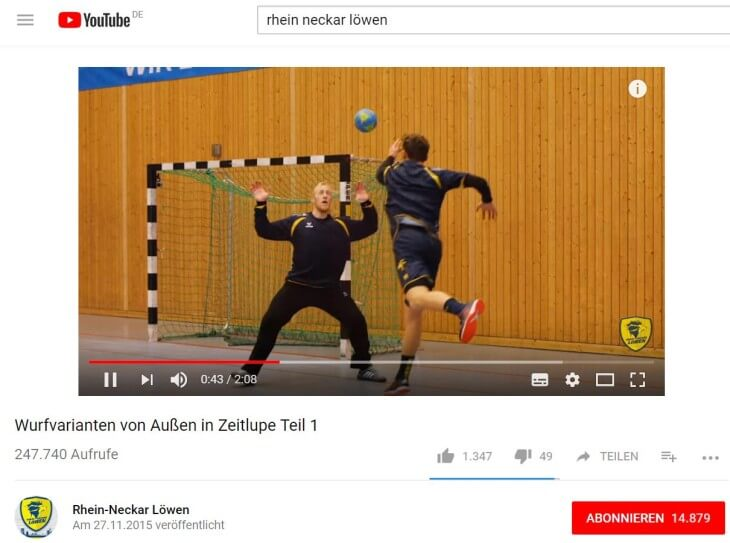 RNL bei YouTube