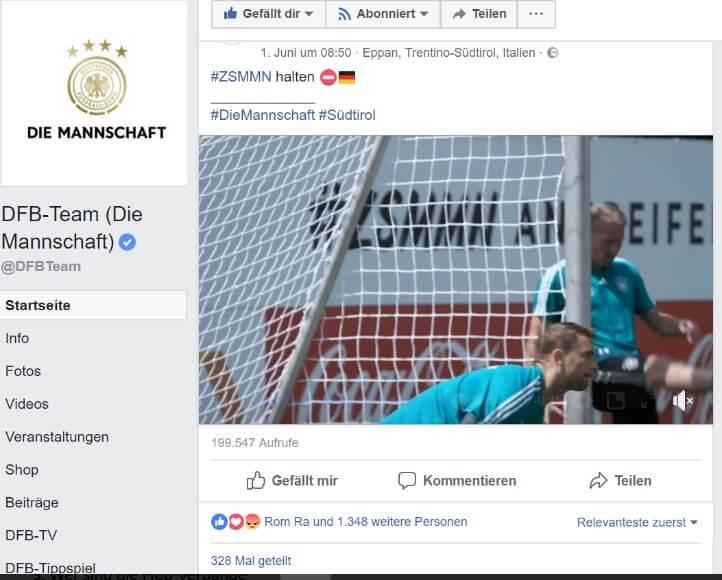 WM Manuel Neuer Facebook