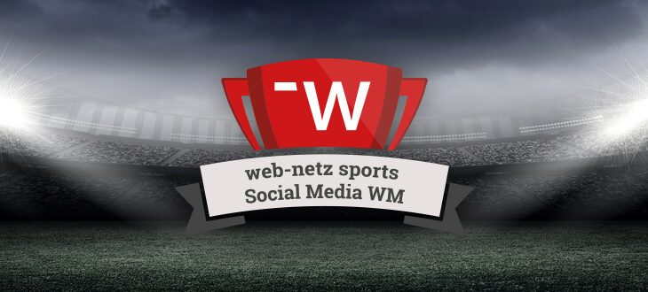 web-netz sports: Social Media Performance Check zur WM 2018