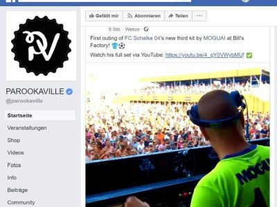 Schalke 04 und Umbro Parookaville: Parookaville Dance Festival