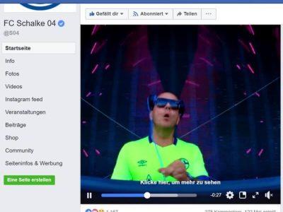 Facebookseite: Schalke 04 und Umbro Parookaville: Parookaville Dance Festival