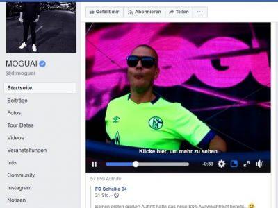 DJ MOGUAJ mit Schalke 04 und Umbro Parookaville: Parookaville Dance Festival Facebookseite: Schalke 04 und Umbro Parookaville: Parookaville Dance Festival