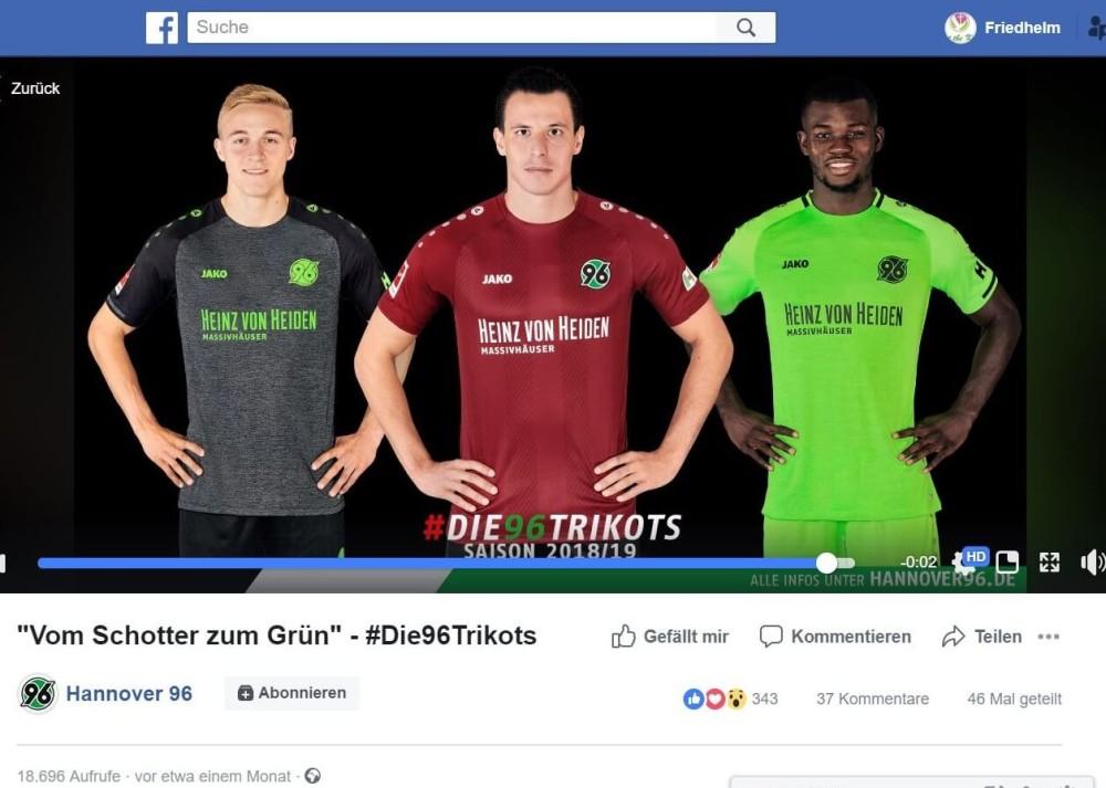 """Hannover 96: Kampagne """"Vom Schotter zum Grün"""""""