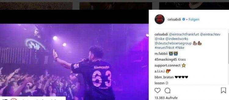 Celoabdi auf Instagram