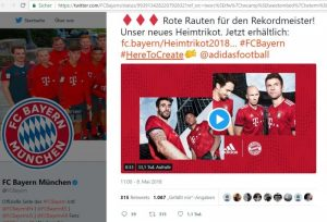 FC Bayern München auf Twitter