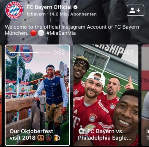 IGTV: FC Bayern Oktoberfest 2018