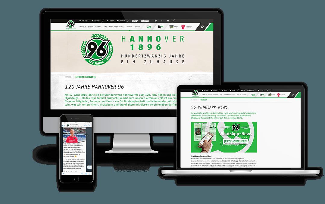 Referenz Hannover 96
