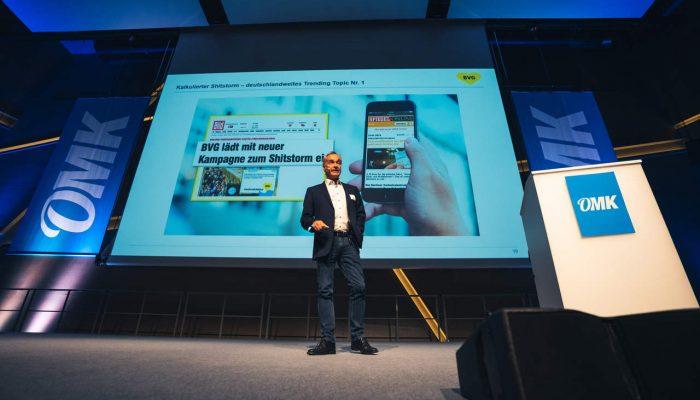 Frank Büch als Speaker auf der OMK 2019