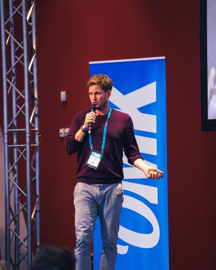 Hauke Böckmann als Speaker auf der OMK 2019
