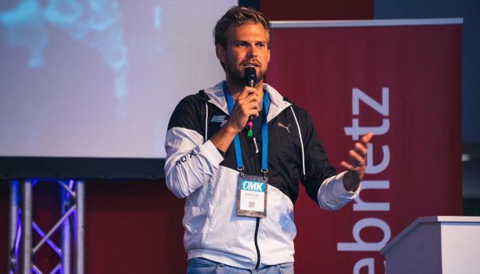 Moritz Fürste als Speaker auf der OMK 2019