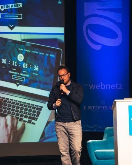 Robert Zitzmann als Speaker auf der OM K 2019
