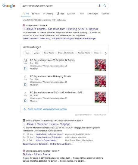 Suchergebnis Bayern München