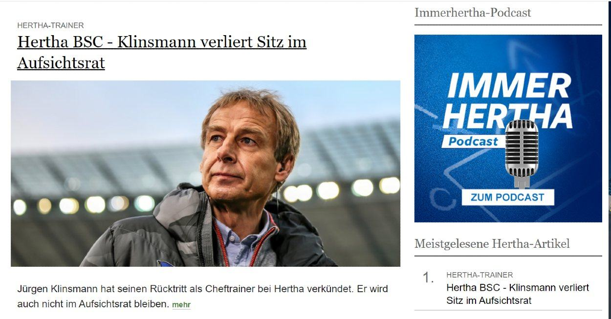 Screenshot der Website morgenpost.de