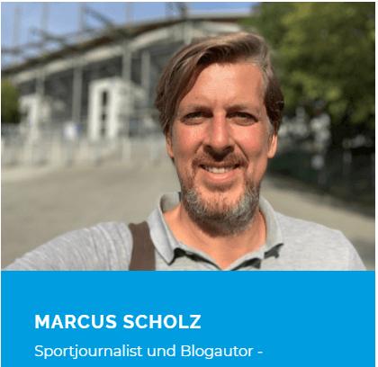 Marcus Scholz, Sportjournalist & Blogautor