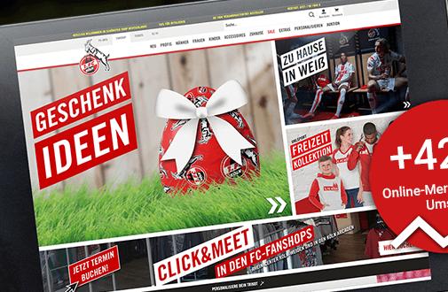 42 Prozent mehr Umsatz im E-Commerce: Wie der 1. FC Köln nach Ausbruch der Pandemie in die Offensive ging
