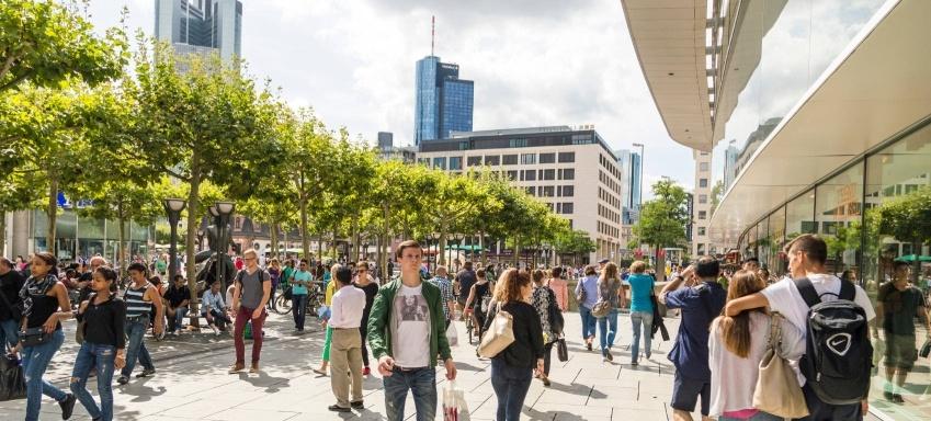 Fußgängerzone Frankfurt