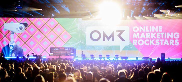 OMR Festival 2016 - Blick auf Bühne